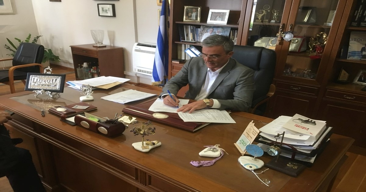 Πράσινο φως» έλαβε έργο κόστους 3,6 εκατομμύρια ευρώ στον Δήμο Τανάγρας