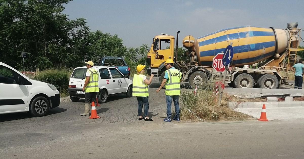Π.Ε Βοιωτίας:Συνεχίζεται η κατασκευή κόμβων στο Εθνικό Οδικό Δίκτυο Βοιωτίας(ΦΩΤΟ)