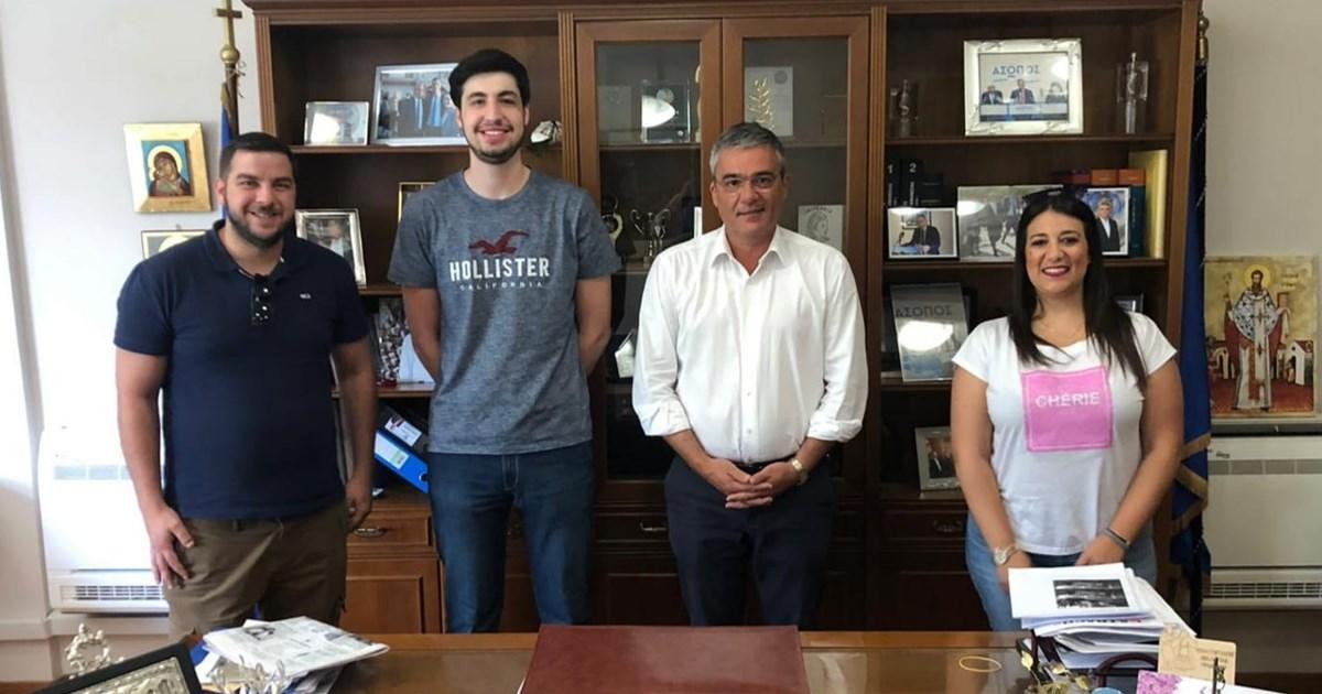 Συνάντηση της ΟΝΝΕΔ Βοιωτίας με τον Δήμαρχο Τανάγρας