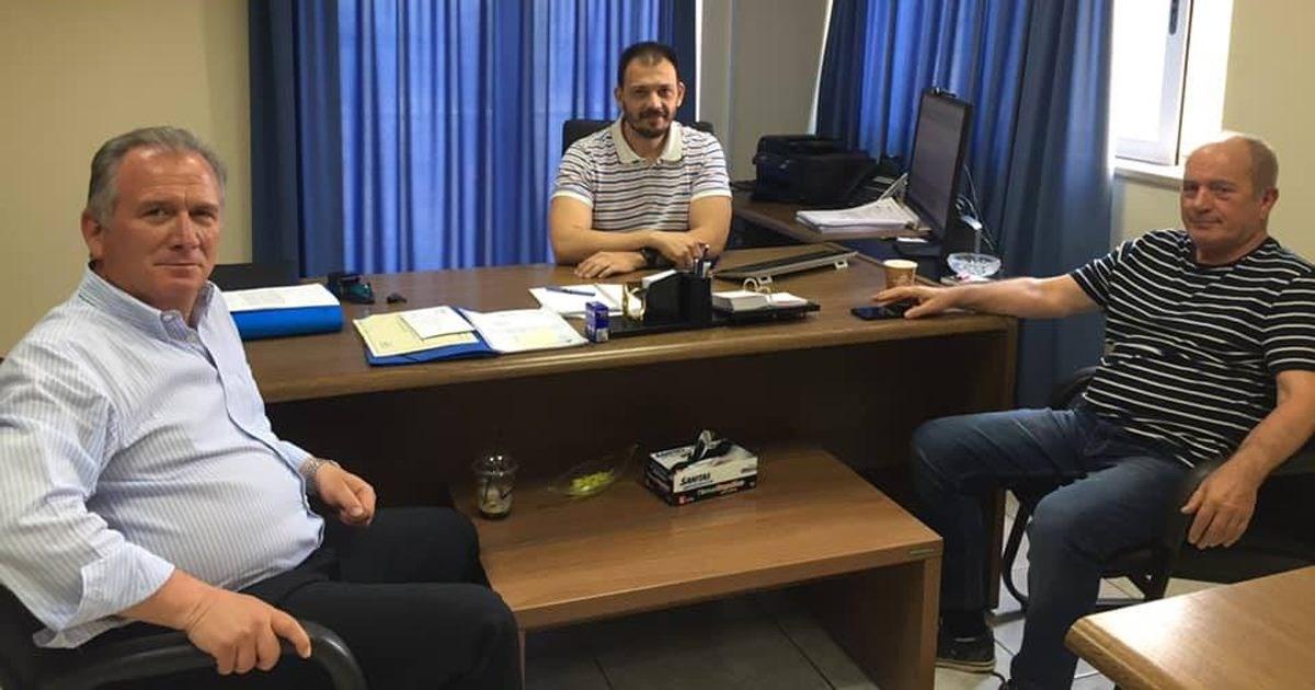 Συναντήσεις εργασίας του Γιώργου Μουλκιώτη με ΔΕΔΔΗΕ Θήβας και Λιβαδειάς