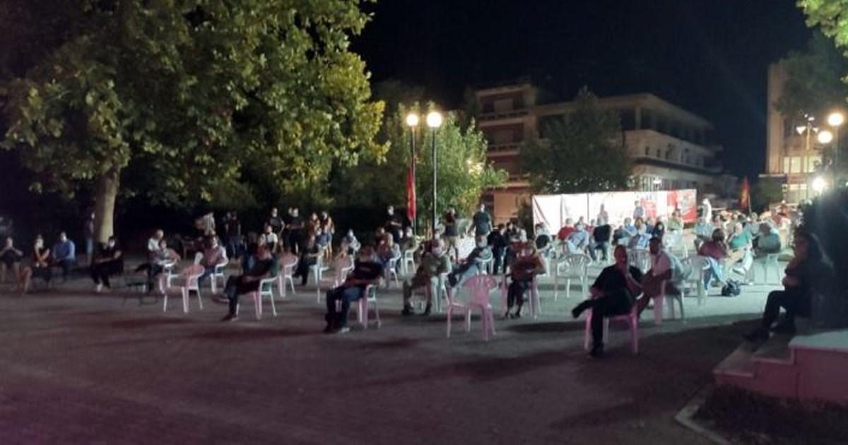Πραγματοποιήθηκε επιτυχώς η εκδήλωση για το 46 Φεστιβάλ ΚΝΕ στη Θήβα