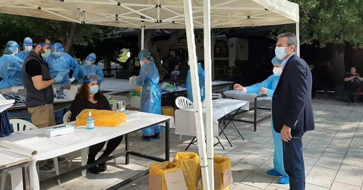 Κορονοϊός : 5 θετικα rapid τests στην Θήβα σε δωρεάν ελέγχους ταχείας ανίχνευσης κορωνοϊού